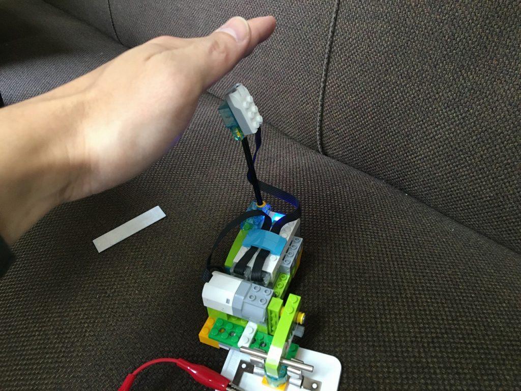 WeDo電気の利用実験成功